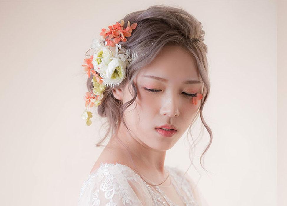 【花晨月夕】編髮盤髮/花藝造型