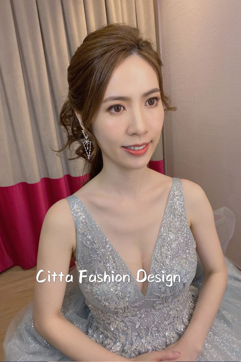 [推薦Citta老師] 不論禮服、妝容及髮型飾品,都能提供建議