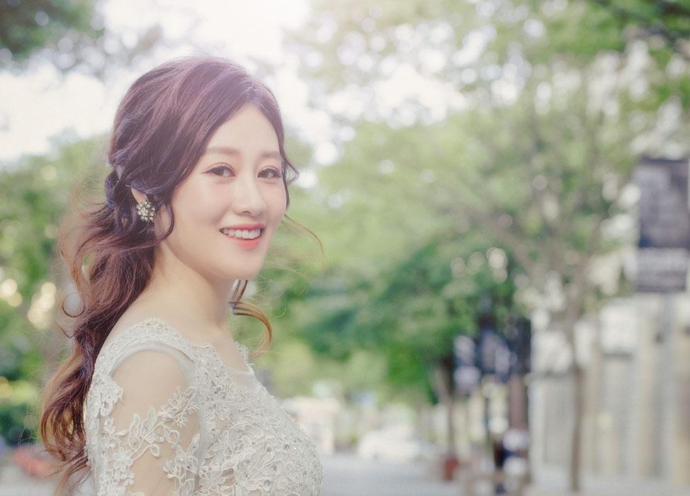 新秘作品-【細緻經典白紗】經典韓系妝髮