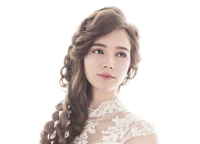 【輕蕾絲混血妝】韓系浪漫微捲髮型/外國新娘妝容/新娘秘書/新娘造型
