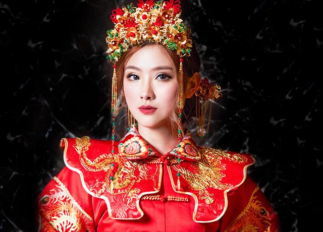 新秘作品-專屬我們的美麗,中式新娘造型懶人包