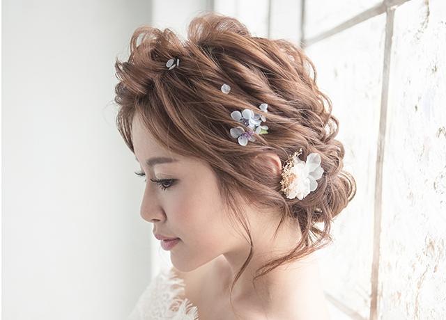 【純真精靈】白絮純淨妝感/低髻的紮髮髮型/仙氣精靈風