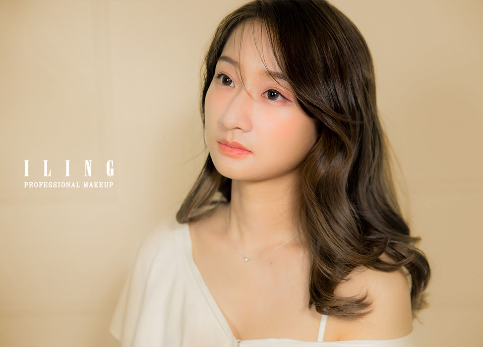 新秘作品-【微糖主義】自然系妝髮/透亮底妝