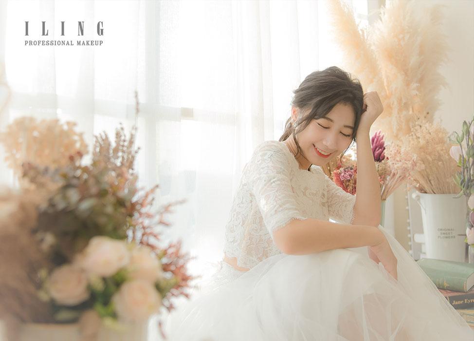 新秘作品-【米亞天使】柔美婉約妝容