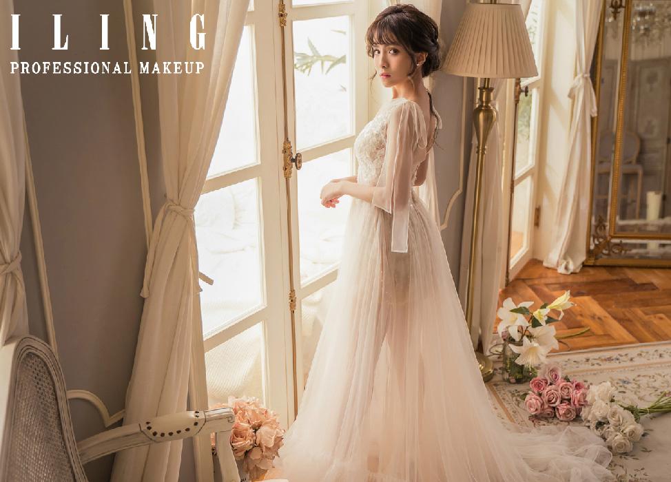 新秘作品-「輕奢小女人婚紗」輕奢華麗妝感