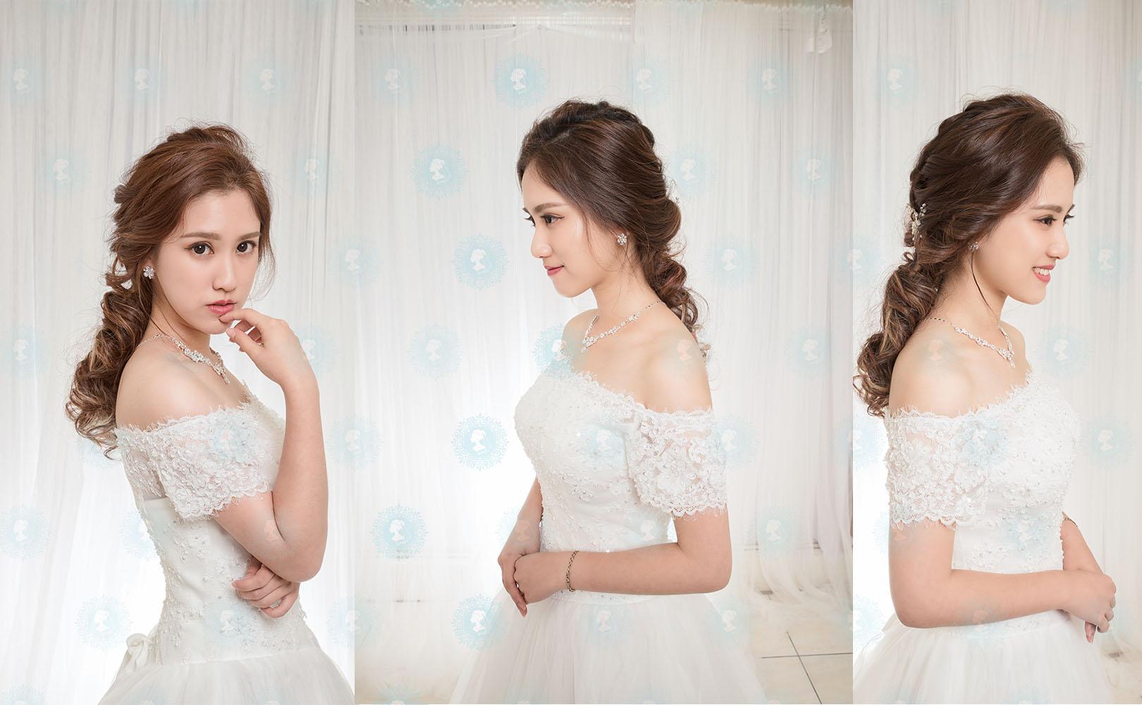 新娘秘書作品-暖暖飄逸-美妝牆