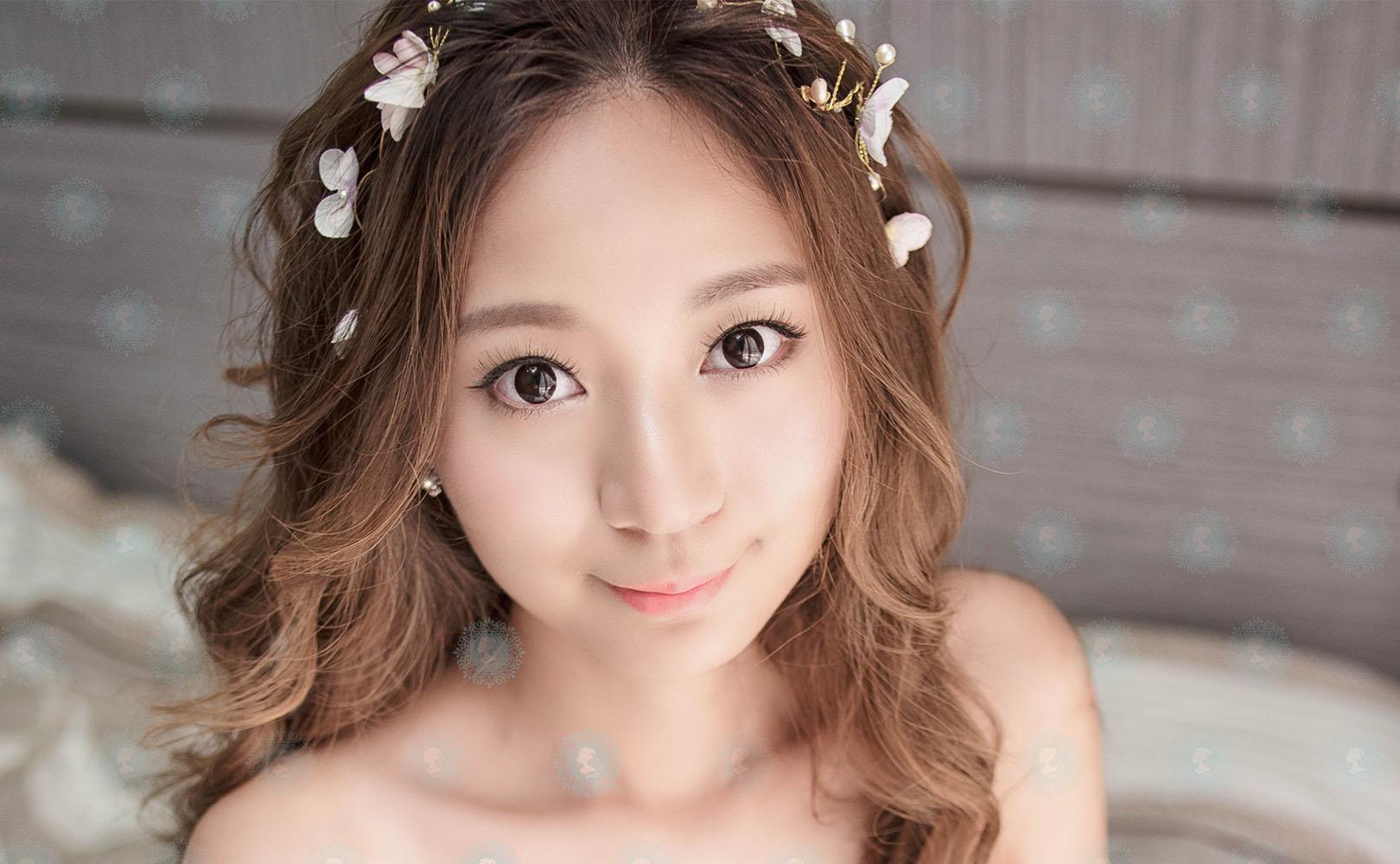 新娘秘書造型師作品-浪漫花仙子/甜美日系風作品照片