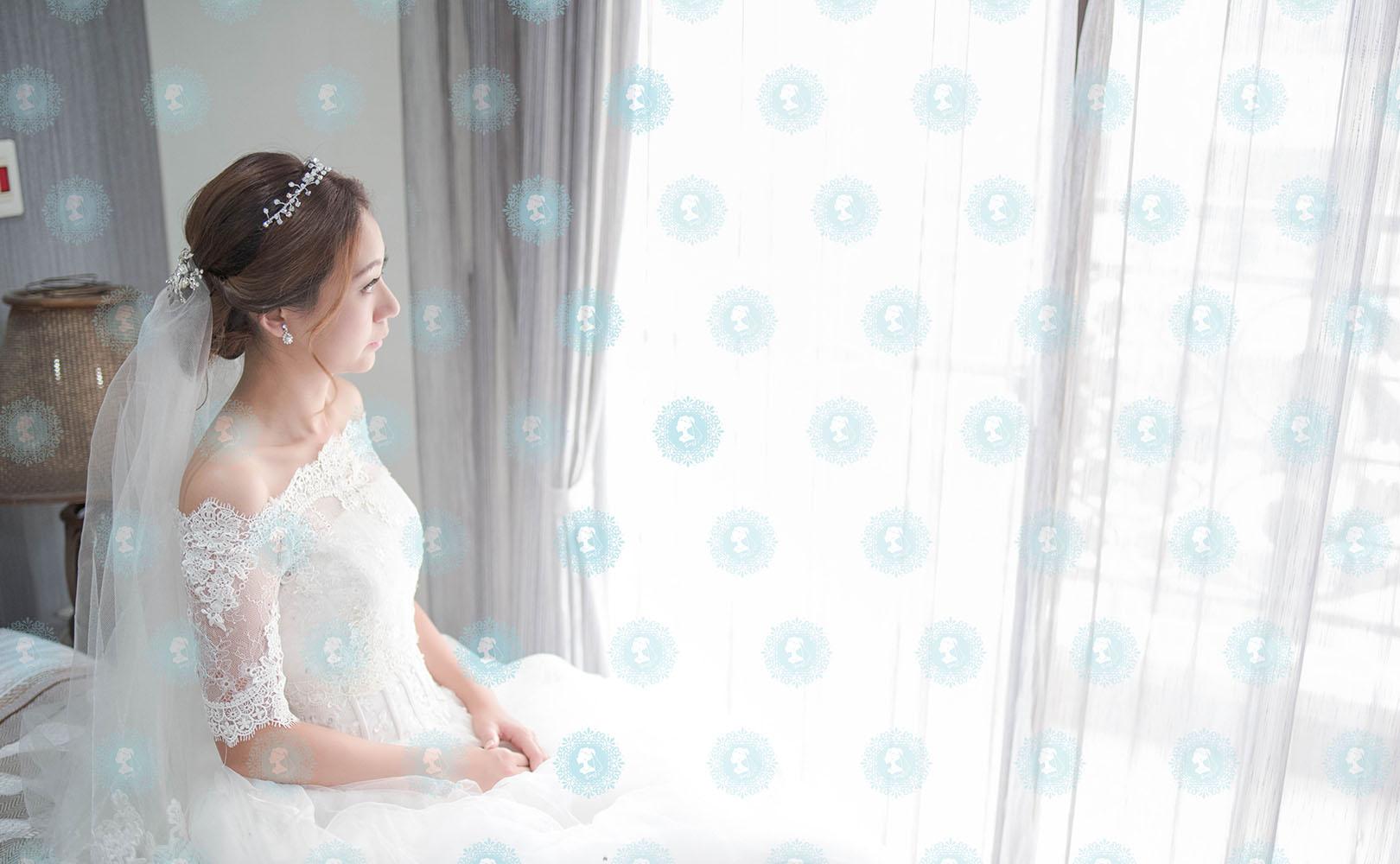 新娘秘書造型師作品-白色夢幻/氣質名媛作品照片圖2