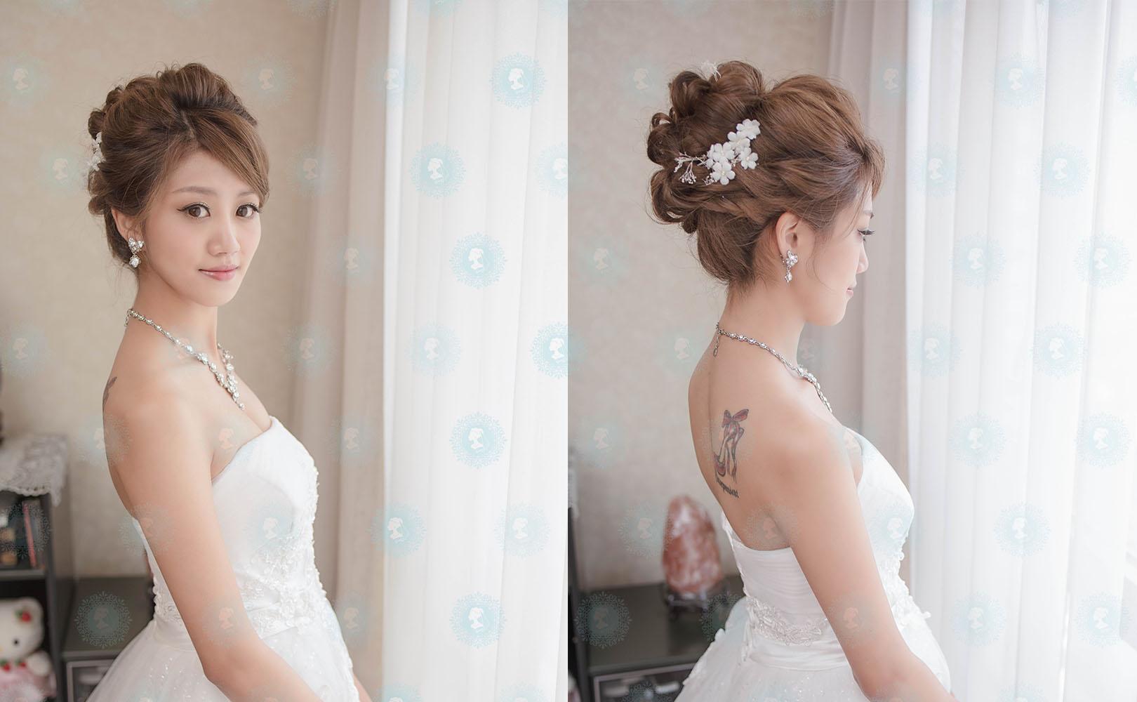 新娘秘書造型師作品-淡雅自然系公主作品照片圖3