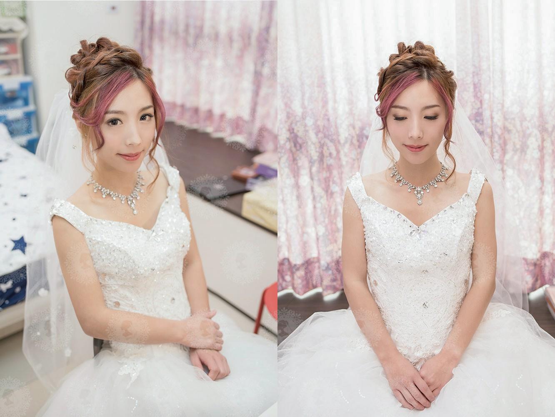 新娘秘書造型師作品-日系甜美/白雪公主照片圖2