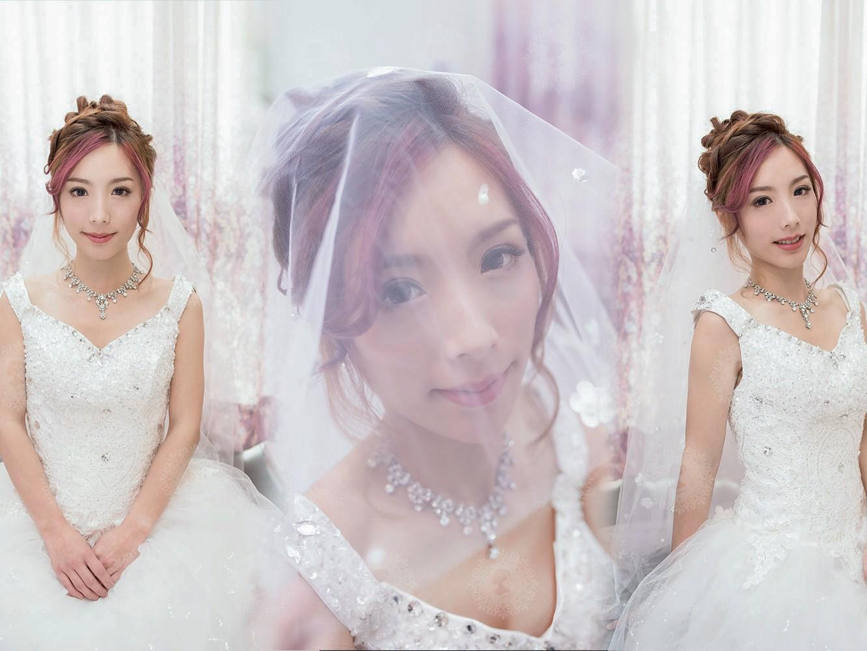 新娘秘書造型師作品-日系甜美/白雪公主照片圖3