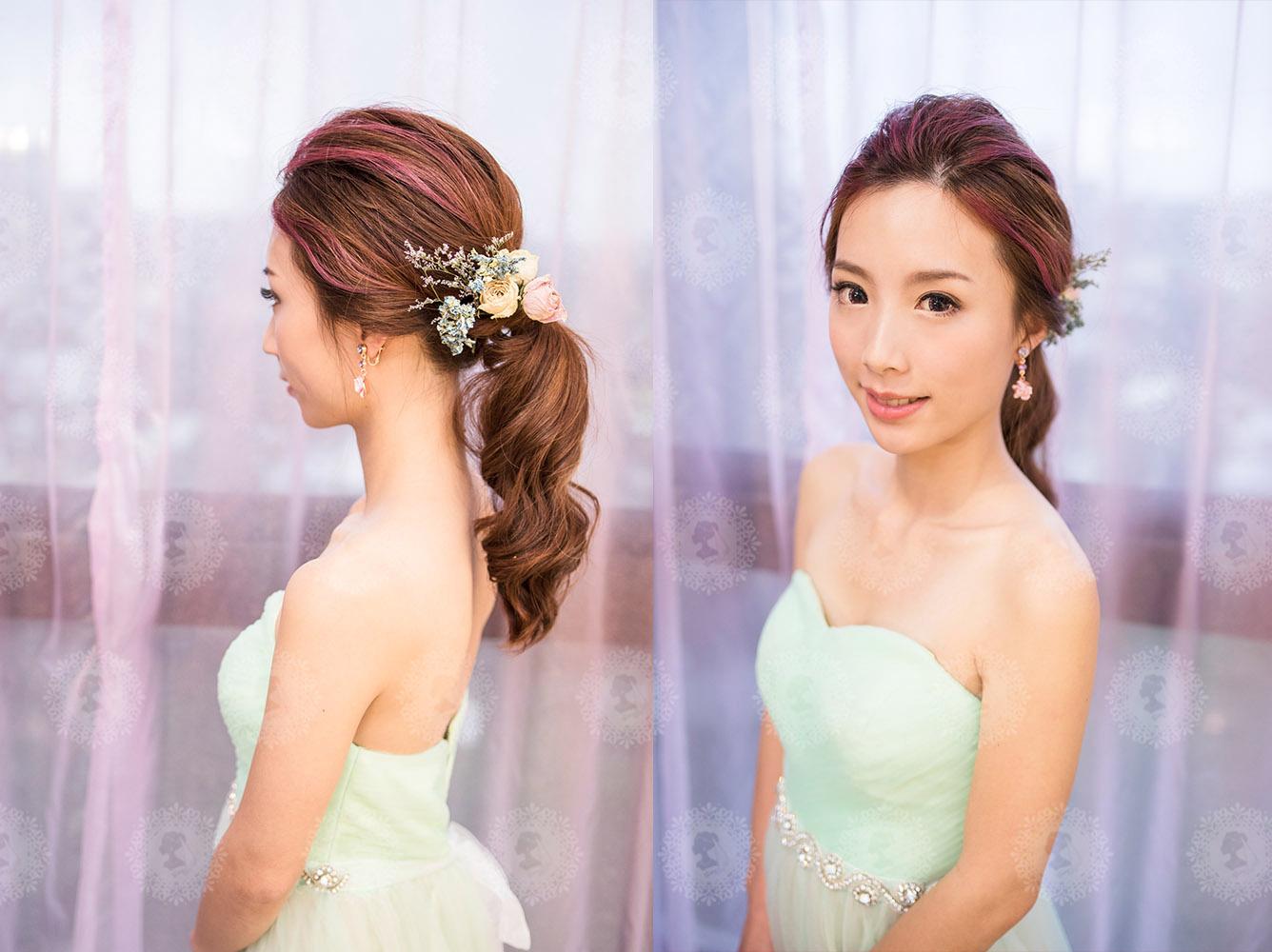 新娘秘書造型師作品-日系甜美/白雪公主照片圖5
