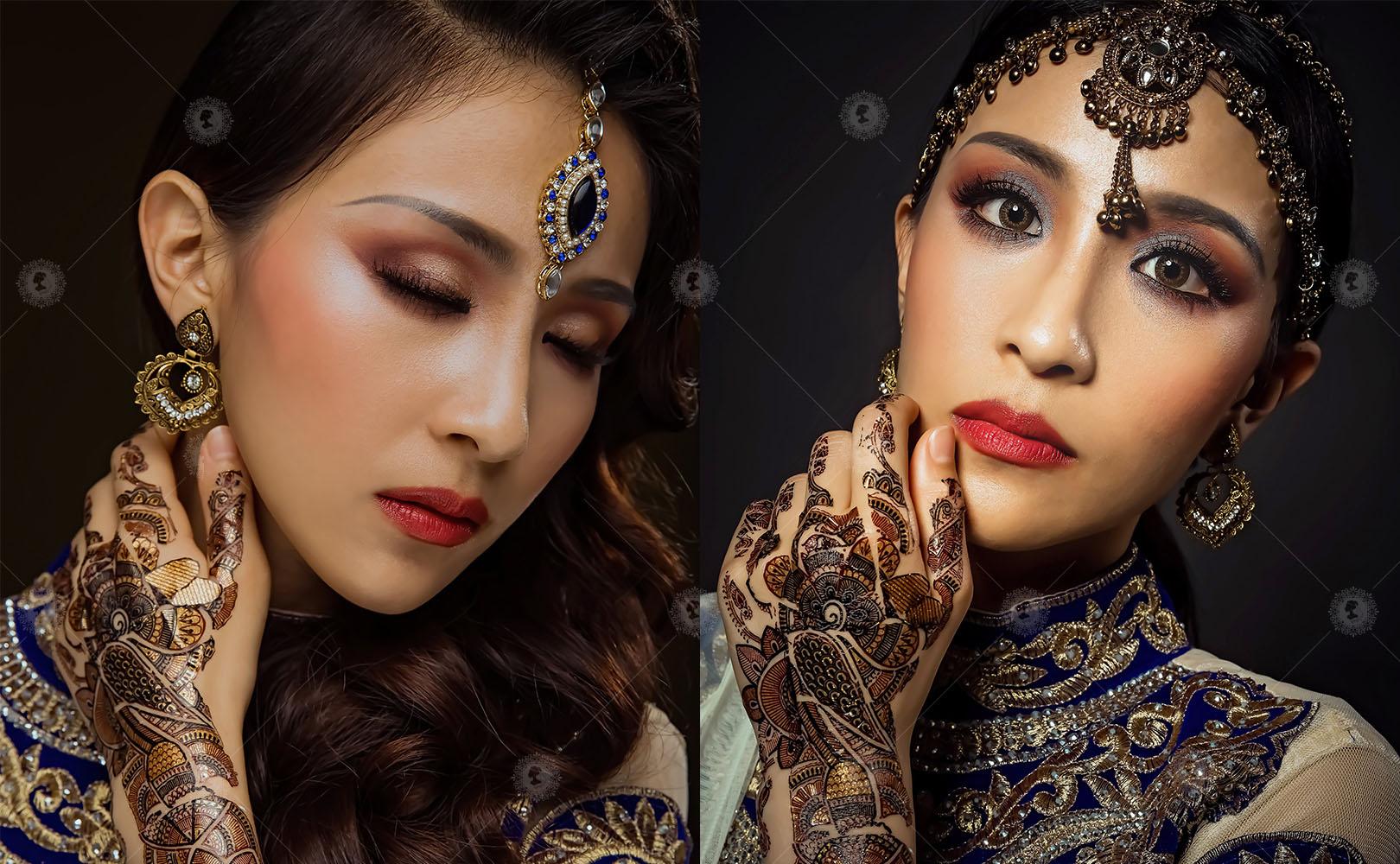 【印度旁遮比-揭開印度面紗】刺繡傳統流行感/硃砂馬達巴蒂作品8