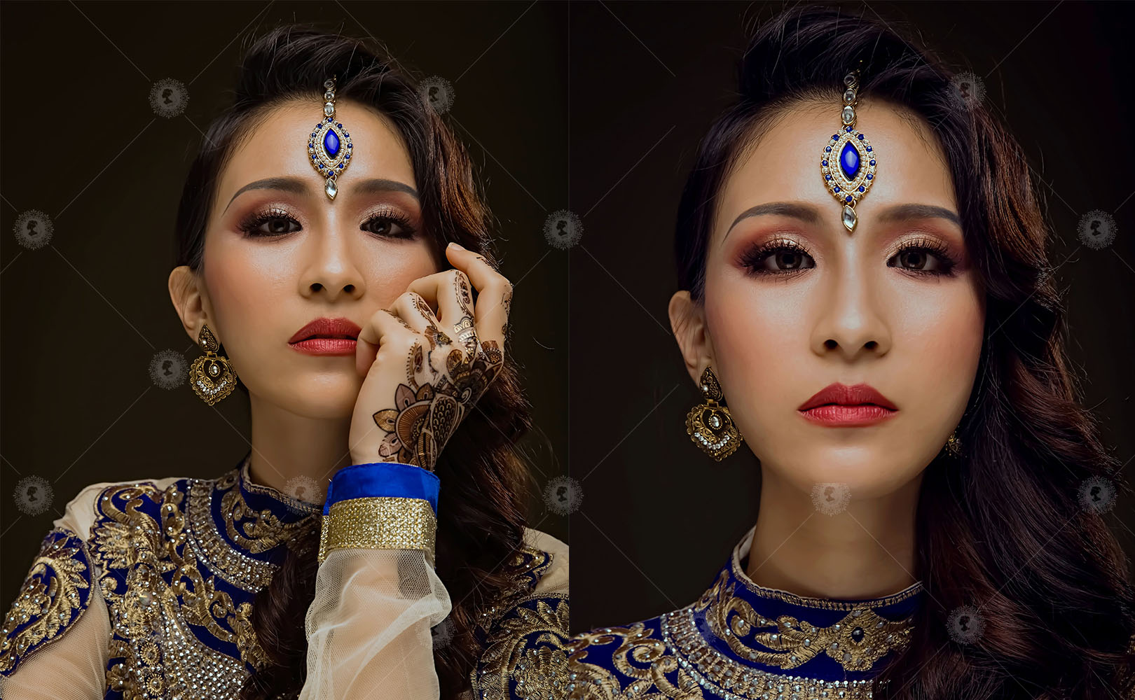 【印度旁遮比-揭開印度面紗】刺繡傳統流行感/硃砂馬達巴蒂作品4